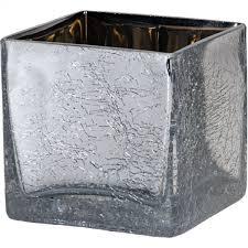 crackle mirror cube vase leading supplier of wholesale florist