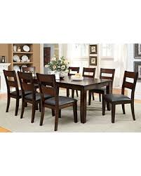 Transitional Dining Room Sets Slash Prices On Furniture Of America Dallas 9 Piece Transitional