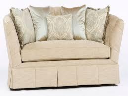 furnitures single cushion sofa beautiful tufted button back