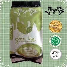 Teh Matcha megumie green tea latte matcha 200gr powder bubuk minuman teh