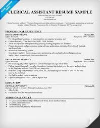 accountant resume templates australia zoo videos 11 clerical assistant resume sle riez sle resumes job