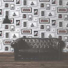 mural wallpaper britain in frames murivamuriva