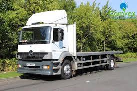 mercedes truck dealers uk mercedes 1823 25ft flatbed 2004 comvex truck exporter uk