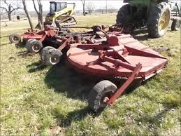 bush hog 1220 batwing rotary mower for sale sold at auction