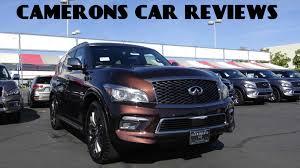 infiniti nissan 2016 2016 infiniti qx80 limited 5 6 l v8 review camerons car reviews