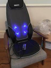 Homedics Chair Back Massager Homedics Shiatsu Max Back Massager With Heat Massage Chair Ebay