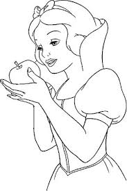 10 images snow white apple coloring pages snow white coloring