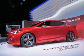 subaru car 2015 subaru wrx sti rumored to get turbo hybrid powertrain