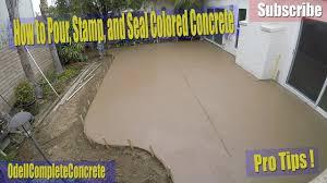 outdoor outstanding stamped concrete vs interior design jobs