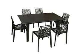plastic round table and chairs dezire plastic dining table set at rs 2413 piece in remodel 0
