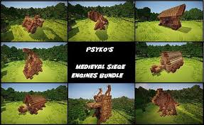 siege engines psykoschlumpf s siege engines bundle minecraft project