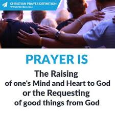 christian prayer worship blessing petition thanksgiving intercession