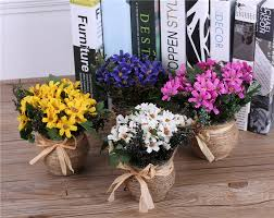 compare prices on artificial flower arrangements in vases online