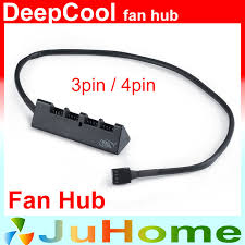 cpu fan 4 pin to 3 pin cpu fan hub 3pin 4pin pwm cpu fan fan power hub compatible with