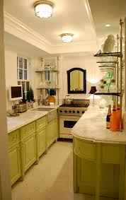 Best Galley Kitchen Layouts Kitchen And Dining Room Layouts Galley Peninsula With Small Studio