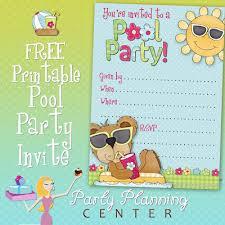 invitation templates pool party free choice image invitation