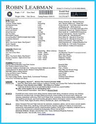 actors resume template awesome brilliant acting resume template to get inspired resume