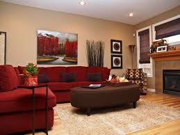 Living Room Color Schemes With by Living Room Appealing Brown And Red Living Room Ideas Red Living