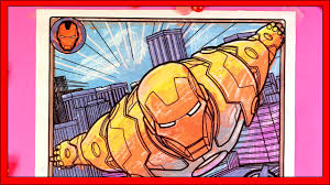 marvel avengers iron man coloring pages youtube