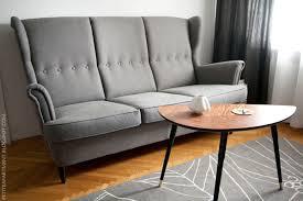 Ikea Modern Sofa New Things In The Living Room Ikea Strandmon Three Seat Sofa And