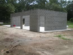 warm lamp masonry block homes with whitee wall can be decor grey