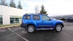 nissan xterra 2015 2015 nissan xterra metallic blue fn651792 kent tacoma