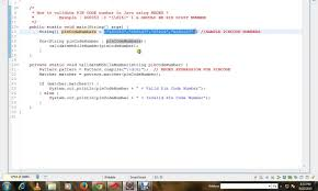 zip code validation pattern how to validate pin code number in java using regex youtube