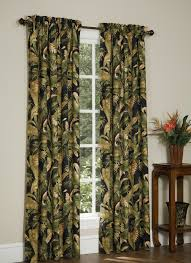 Black Window Valance La Selva Black By Thomasville