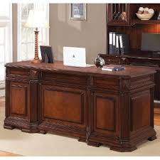 Computer Desk Cherry Wood Cherry Wood Executive Computer Desk Westchester Rc Willey