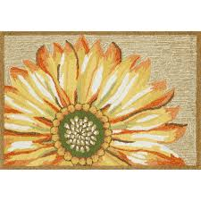 Orange Outdoor Rug by Amazon Com Liora Manne Ft1d5a50209 Whimsy Round Flowers Rug 5