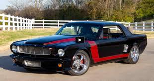 custom 1966 mustang monstrous 9 0 liter 1966 mustang custom ksv9000 cars
