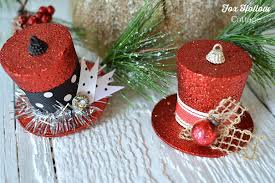 top hat christmas decorations christmas2017