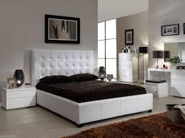 Bedroom Sets Clearance Faux Leather Furniture Set White King Size - White faux leather bedroom furniture