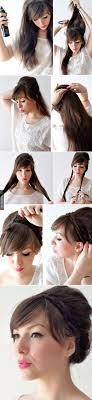 Hochsteckfrisurenen Lockige Haare by Die Besten 25 Einfache Frisuren Ideen Auf Einfache