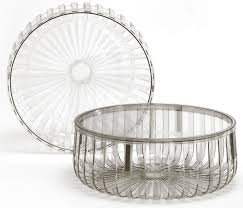 panier house doctor panier coffee table cristal by kartell