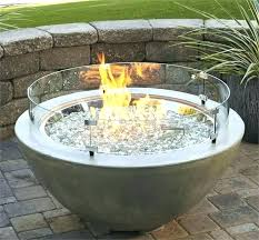 round propane fire pit table round propane fire pit gardentobe com