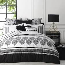 Black Duvet Cover King Size Tangier Black Quilt Cover Set By Logan And Mason In Black Planet