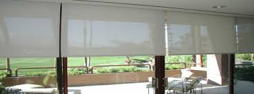 Patio Roll Down Shades What To Look For In Patio Door Roller Solar Shades