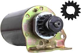amazon com new starter motor fits briggs and stratton engine