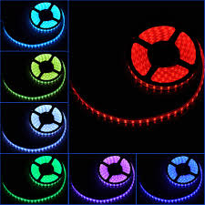 color led light strips led strips 300 lights 16ft waterproof wireless rgb 5050