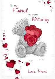 me to you happy birthday fiancé funky pigeon