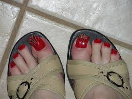 feet nail design excellent nail designs