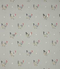 Material For Kitchen Curtains by Gorgeous Chicken Fabric Suitable For Use As Curtain Material Or
