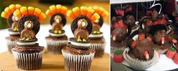 reanimated turkey cupcakes fail