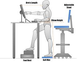 advantages of standing desk sitting to standing workstations ergonomics environmental health