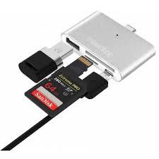 Otg Smart Coloriicc C4 4 In 1 Otg Smart Reader Type C Hub 6 4