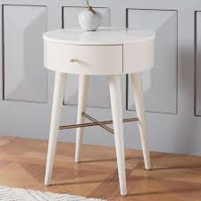 marble top bedside table penelope bedside table oyster w marble top west elm australia