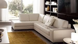 canap faux cuir canapé angle en simili cuir vachette blanc