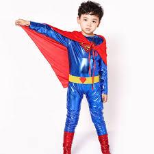 Superman Halloween Costume Aliexpress Buy Superman Kids Costumes Superhero