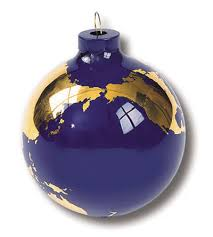 handmade glass world globe ornaments free shipping glass ornament